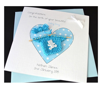 Best Handmade New Baby Card