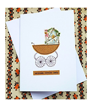 Fifth Best New Baby Card