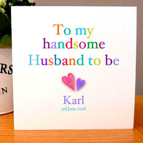 Want To Let Your Soon Be Husband Know How Happy You Are That The Pair Of Going Get Married Take A Look At Some Greetings Cards Weve