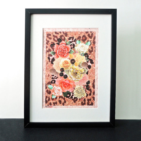 Decorque Collection A4 Framed Art Print