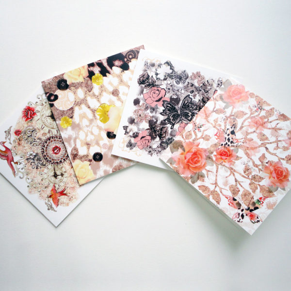 Earth Display - Pack of Four Greeting Cards