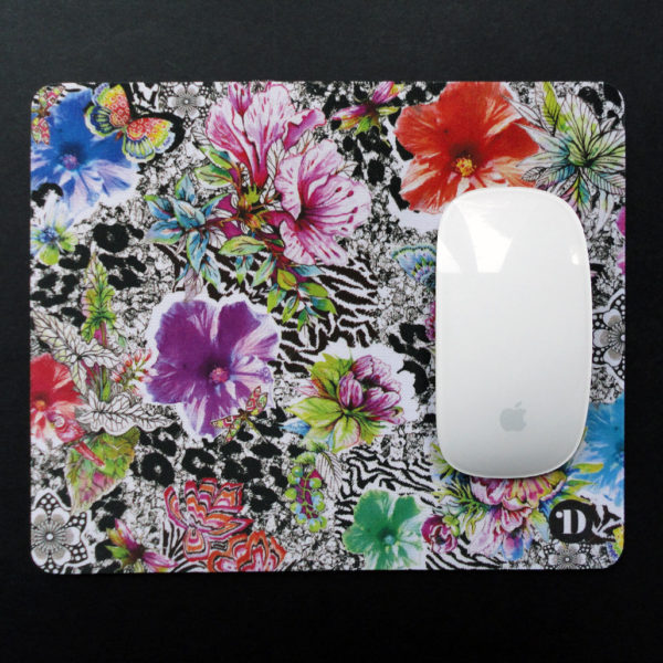 Tropical Skin Mouse Mat and Single Card - Gift set