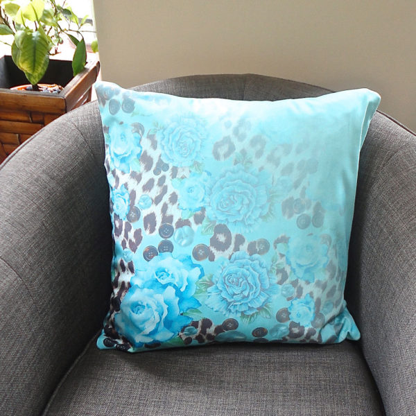 Decorque Blue Classic Cushion