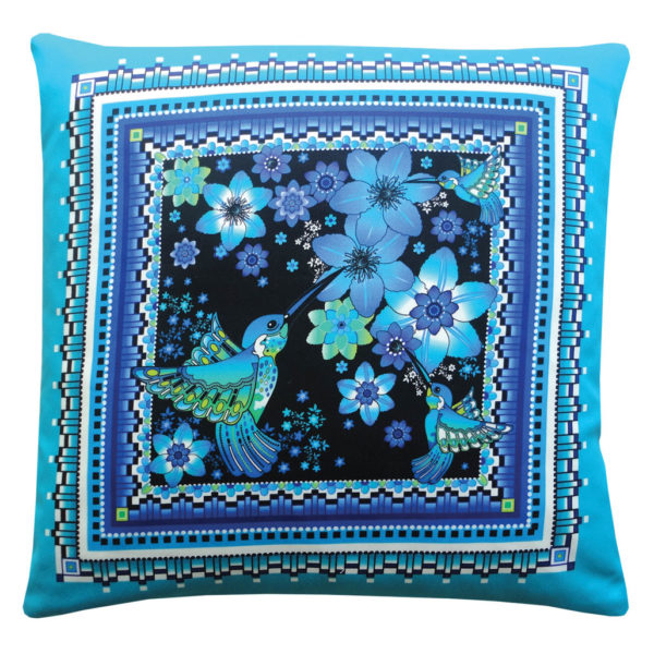 Charm of Hummingbirds Cushion